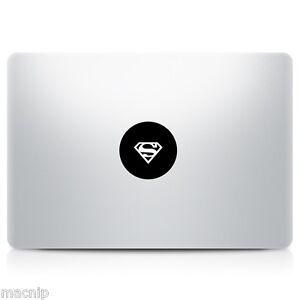 Superman Symbol Logo Macbook Sticker Laptop Decal Mac Pro Air - Spongebob macbook decal
