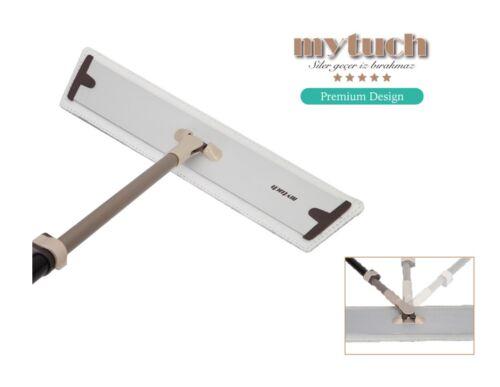 MYTUCH Multifunktionaler Mopp Bodenwischer Set mit 3 Mikrofaser Bezügen