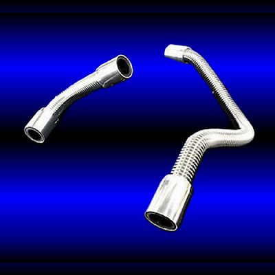 Heater Hose Kit Stainless Steel fits SBChevy BB Chevy Ford Mopar Pontiac Olds