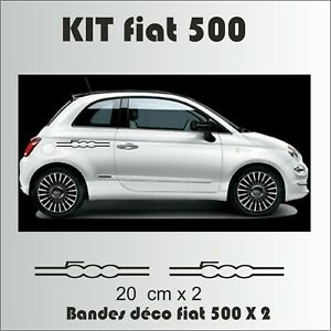 Fiat-500-Kit-autocollants-Bandes-complet-sticker-adhesif