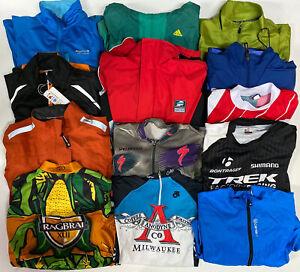 Wholesale-Lot-of-20-Cycling-Jersey-Jackets-Reflective-Colorful-Goretex-Trek-M