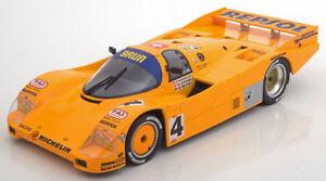 Norev187403 - Voiture De Courses Porsche 962c Le Mans 1988 Équipage Hunkeler Lec