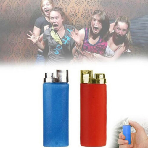 1Pc funny party trick gag gift water squirting lighter joke prank trick toy PSJ