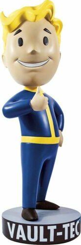 "NEW Fallout 4 Gaming Heads Vault Boy 111 Charisma Mega Bobblehead 15/"""