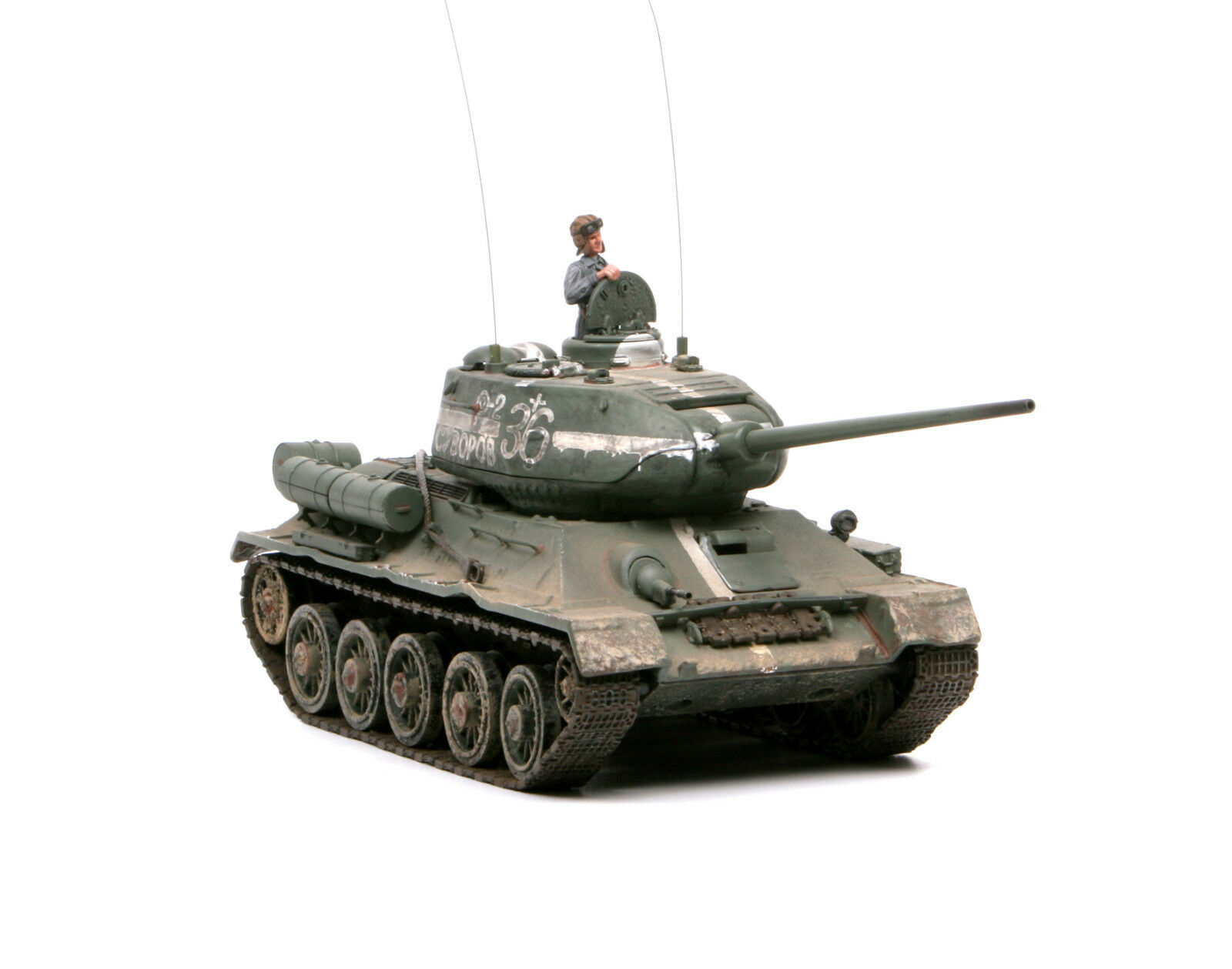 Forces of Valor 1 32,    EXTRA RARE    Russian T34 85, Art.  80018