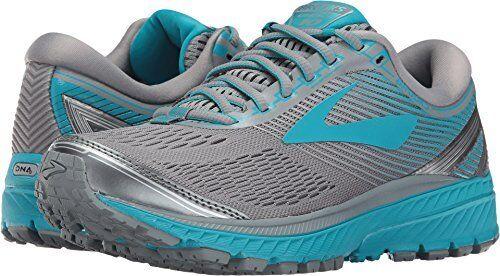fc40676d834 Brooks 120246 1b 038 Ghost 10 Primer Grey Teal Women s Running Shoes ...