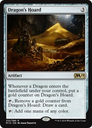 Dragon's Hoard x1 Magic the Gathering 1x Magic 2019 mtg card