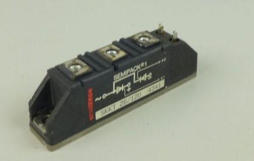 .TU774 Semikron Thyristor Semipack SKKT 26//120 26//12D