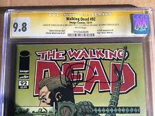 Walking Dead #92 CGC 9.8 SS Adlard Grace Gurira Michonne Jesus 1 2 19 91 100 108