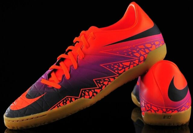 491d973ad4e5 Nike Hypervenom Phelon II IC Total Crimson Indoor Soccer Shoes Mens 9.5 NEW