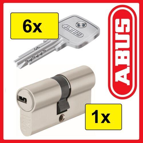 Schließzylinder — mit 5 ABUS EC750 Profilzylinder 1 = 6 Schlüssel — N/&G