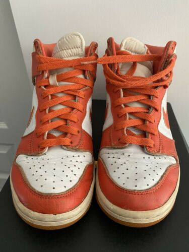 1999 Nike dunk High Syracuse Size 8 Preowned