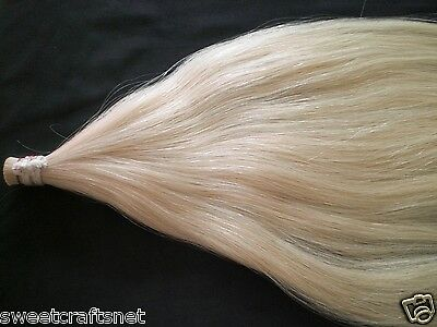Other Musical Instrument Equip Painstaking 500 Grams Best Quality Siberia Horse Hair Unbleached Stallion Horse Hair 80-82cm Equipment