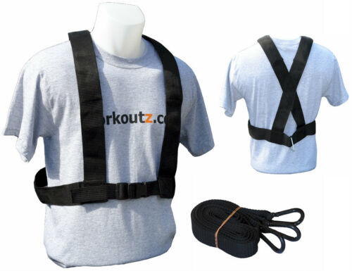 WORKOUTZ SPEED HARNESS SET OF 10 FOR POWER PULLING TRAINING