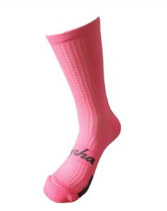 Rapha Ciclismo Calze Regular Medium-Large-Rosa//Grigio-morbido al tatto