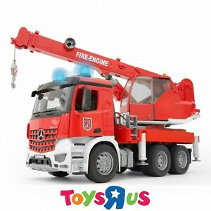 Bruder 1:16 MB Arocs Fire Engine Crane Truck with Light and Sound Module
