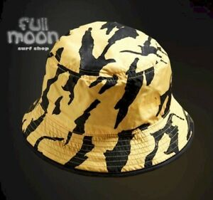 d45431ed40d New The North Face Sun Stash Yellow Black Mens Bucket Hat Cap