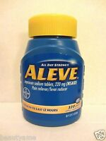 Aleve Naproxen Sodium 220 Mg 320 Caplets Pain Reliever, Fever Reducer