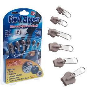 kit 6 zipper r paration fermeture clair manteau veste. Black Bedroom Furniture Sets. Home Design Ideas