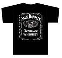 Official  JACK DANIELS Big classic logo T-Shirt