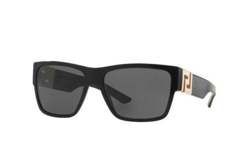 Gray Polarized 59 mm VE4296 GB187 NWT Versace Sunglasses VE 4296 GB1//81 Black