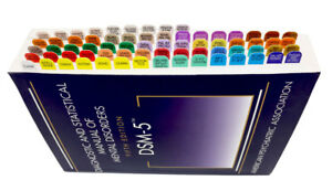 DSM-5 Index Tabs with Easy Installation Template