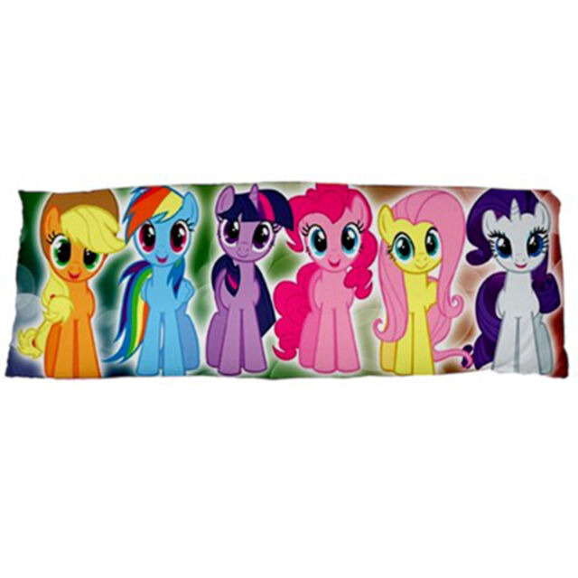NEW Cute My Little Pony Friendship Inspired Body Pillow Case Cover Kid Gift Idea