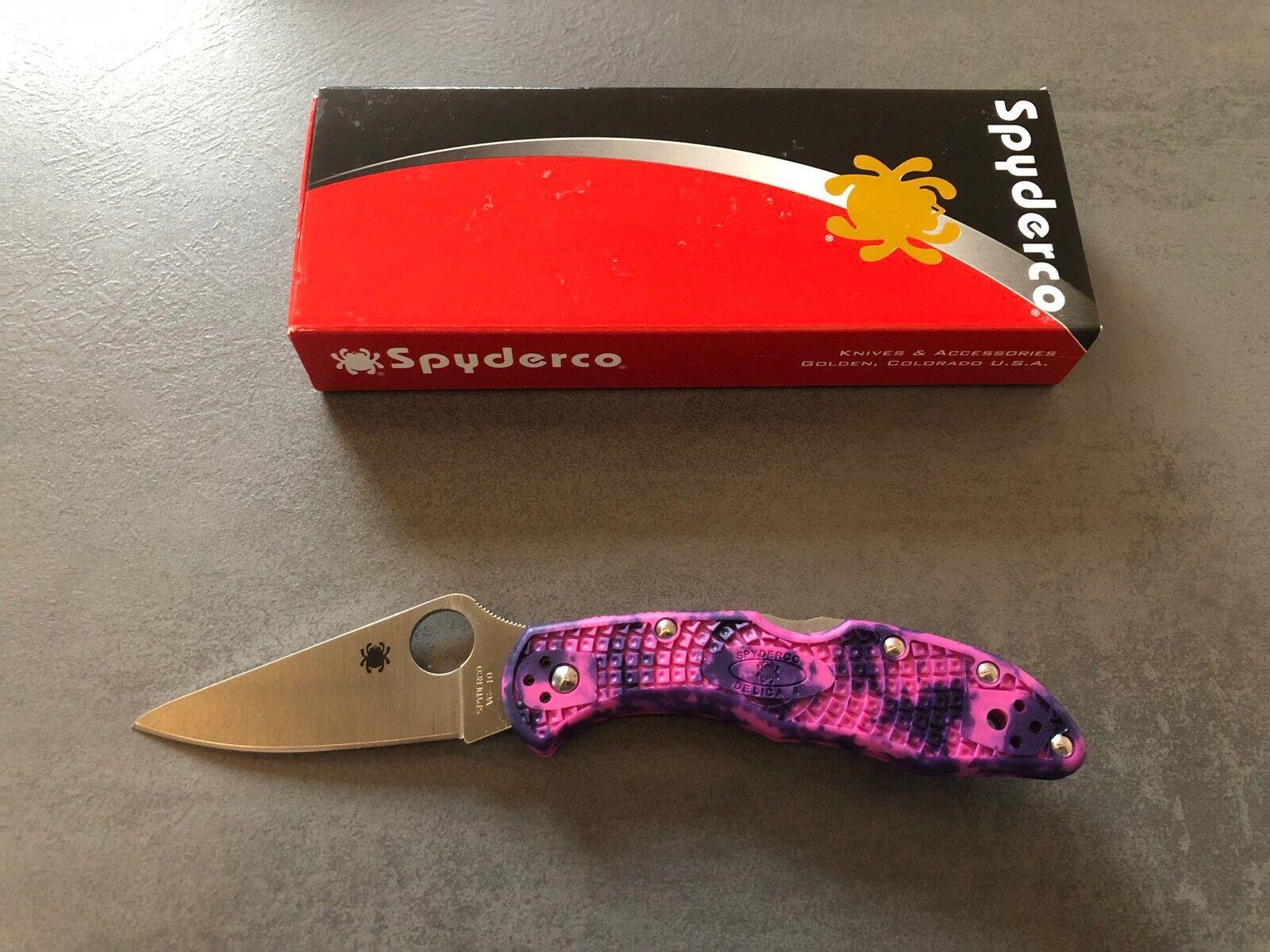 Spyderco Delica Taschenmesser Taschenmesser Taschenmesser Limited Edition 40dd4d