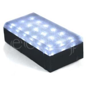 Hervorragend LED Stein Pflasterstein Bodenlampe Einfahrt Beleuchtung 10x20cm CZ21