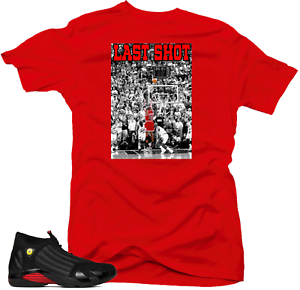 Shirt-to-Match-Jordan-14-Last-Shot-Sneakers-1-Last-Shot-Red-Tee