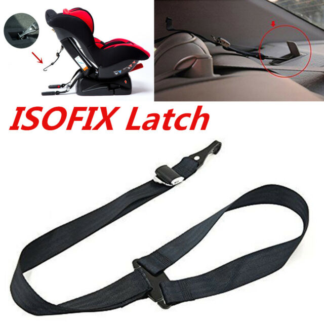 1x Car Top Tether Strap Baby Child Safety Seat Belt Latch Hook Anchor Adjustable