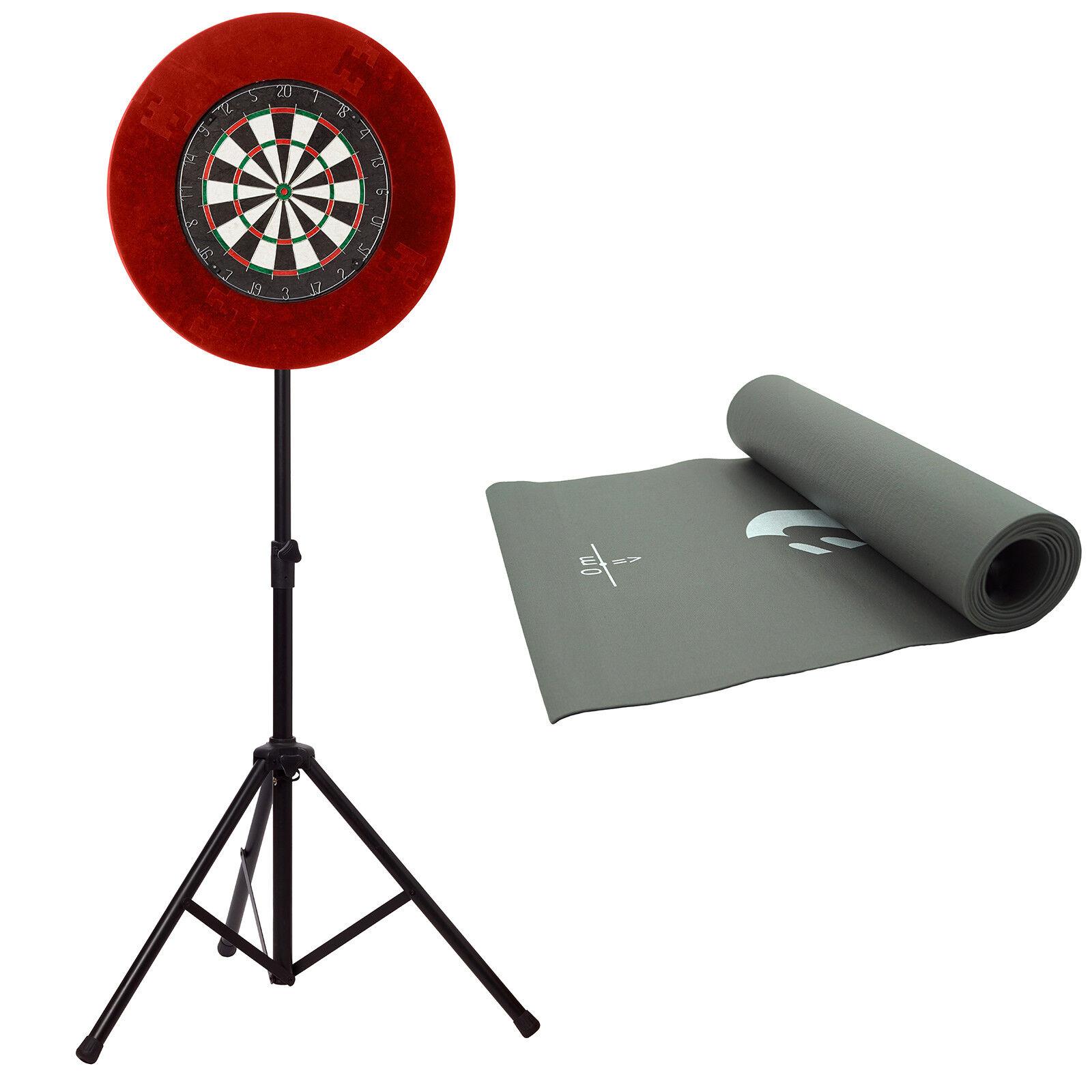 Best sporting DARTSET Dartboard Dartboard Tripod dartteppich Edging Arrows