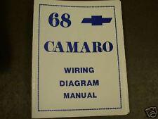 1968 chevrolet camaro wiring diagram manual