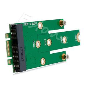 mSATA-Mini-PCI-E-3-0-SSD-to-NGFF-M-2-B-Key-SATA-Interface-Adapter-Card-New