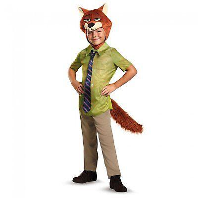 Kids99838 Disguise Nick Wilde Classic Zootopia Disney Boys Costume