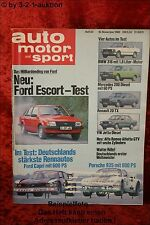 AMS Auto Motor Sport 24/80 * Mercedes 200 D BMW 316 Alfetta GTV VW Jetta Diesel