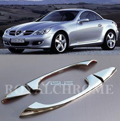 US STOCK CHROME Door Handle Trims for R171 SLK C209 CLK CLC W203 Coupe Mercedes