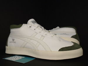 Details about ASICS ONITSUKA TIGER SUNOTORE 72 SAPPORO OFF-WHITE OLIVE  GREEN CREAM GOLD 10.5