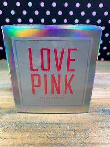 NEW-SEALED-Victoria-039-s-Secret-Love-Pink-Perfume-Fragrance-Perfume-1-7-fl-oz-RARE