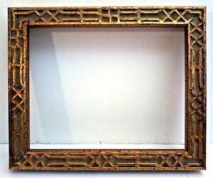 """18 X 24 STANDARD PICTURE FRAME 3 1//2/"""" WIDE SCOOP GOLD LEAF ORNATE FLORAL CARVE"""