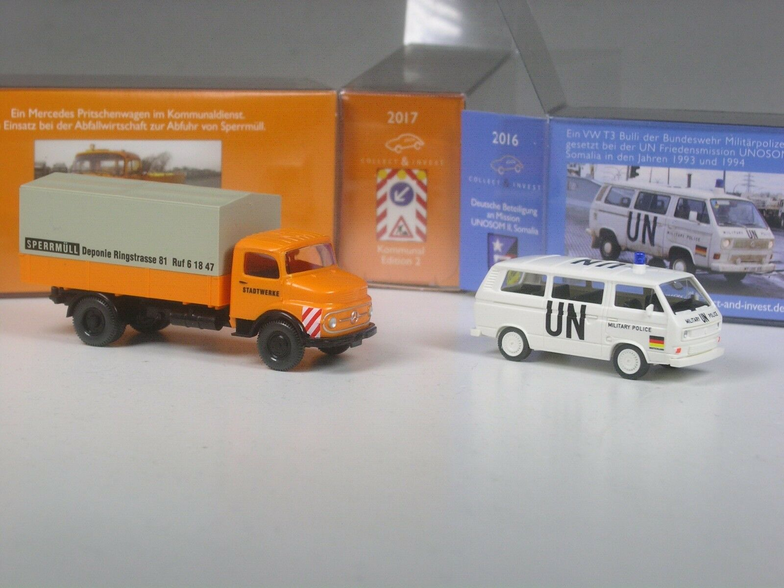 Viking C & I especial modelo 1413 MB a granel granel granel de residuos eliminación y VW T3 ONU de las fuerzas armadas 26fd29