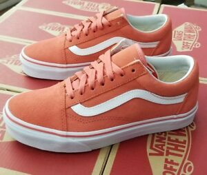 9fd9f71bf4 Image is loading VANS-OLD-SKOOL-SUEDE-SPICED-CORAL-WHITE-VN0A38G1R1K-