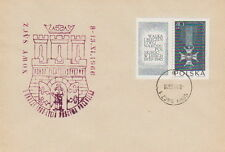 Poland postmark NOWY SACZ - crest millennium (red !!)