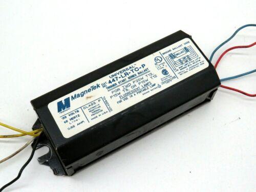 2-Lamp Magnetek 447-LR-TC-P Fluorescent Ballast F20T12 F15T12 or F15T8