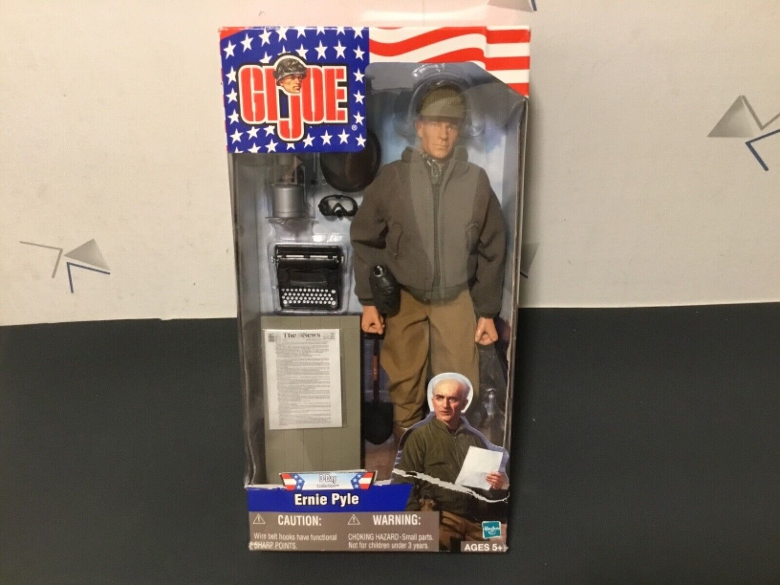 G.I. Joe Ernie Pyle Wirkung Figure UNOPENED CONDITION