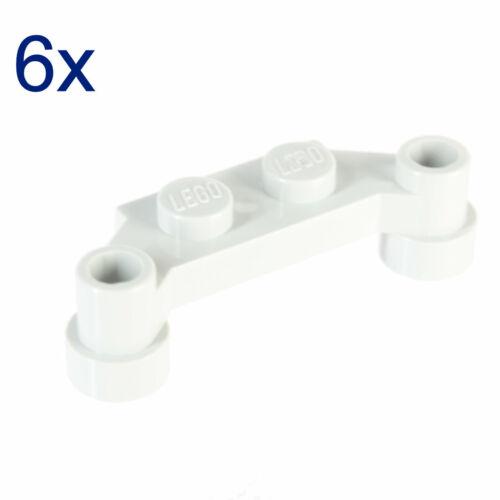 Lego ® 6x plaque 1 x 4 Offset blanc 4590