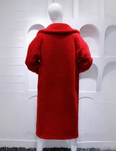 Long Coat Women Oversized Fur Faux Teddy Luxury Feel Bear T0OFzF8n