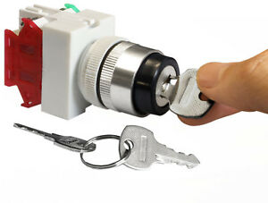 NEW-On-Off-Key-Switch-Security-Lock-Heavy-Duty-Keyed-Power-Ignition