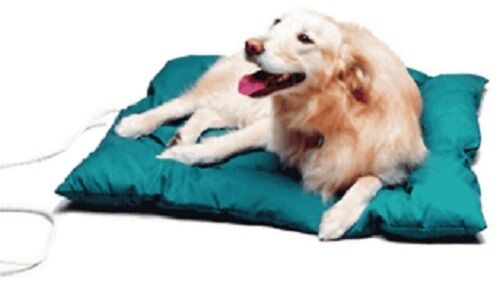 HEATED DOG THERMO CUSHION BED-HUNTER GREEN-NEW-ALL SIZES-BEST PRICE ON EBAY