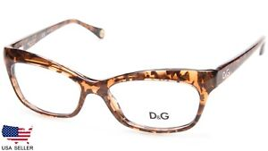 e47405248bb0 NEW D G Dolce   Gabbana DG 1232 2550 MARBLE HAVANA EYEGLASSES 53-16 ...